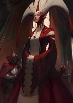 Signora Rosso by 3four on DeviantArt
