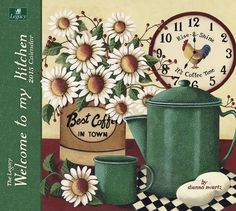 Amazon.com : Legacy Publishing Group, Inc. 2015 Wall Calendar, Welcome to My Kitchen by Dianna Swartz (WCA14236) : Office Products