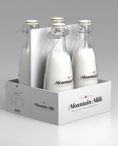 Mountain Milk (Student Work) | Packaging of the World: Creative Package Design Archive and Gallery