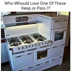 From The Old Vintage Stoves Look To The New Reproduction One's! I love this stove and would so put it in my kitchen
