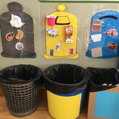 Por fin un poco más claro reciclaje claustrodeig Montessori Activities, Learning Activities, Preschool Activities, Kids Learning, Recycling Activities For Kids, Preschool Lessons, Preschool Crafts, Daycare Crafts, Toddler Crafts
