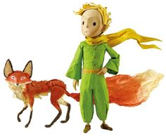 Hape The Little Prince Figurines Príncipe y Zorro Stop Motion, Le Petit Prince Film, The Little Prince Movie, Empire Romain, Animation Film, Puppets, Action Figures, Artsy, Wallpaper