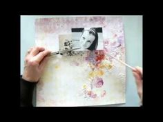 LOVE- Mixed Media Layout Tutorial by Stephanie Papin