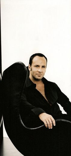 TOM FORD... Have a little bit of a boy crush...