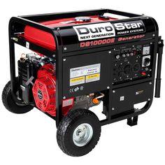 DuroStar 10000W Portable Gas Electric Start Generator Standby Camping DS10000E #DuroStar
