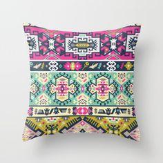 popular ethnic tribal Throw Pillow | Society6