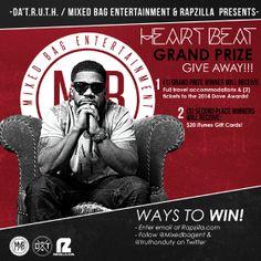 Da' T.R.U.T.H. Heartbeat Giveaway - Win a Trip to the Dove Awards   Rapzilla