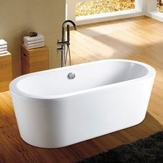 """""""Anguilla"""" Free Standing Bath with Overflow"""