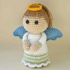 angel crochet amigurumi free pattern