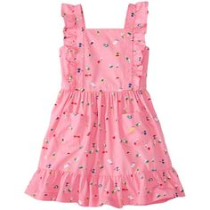 Girls Pinafore Pocket Dress by Hanna Andersson