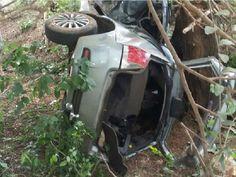 Adolescente de 15 anos morre após perder controle do carro e capotar em Capitão Enéas, Norte de Minas