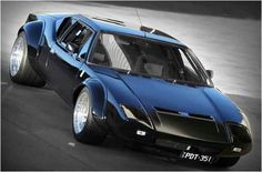 De Tomaso Pantera. If only it were as fast as the Ford GT 45 it would be my all time favorite car.