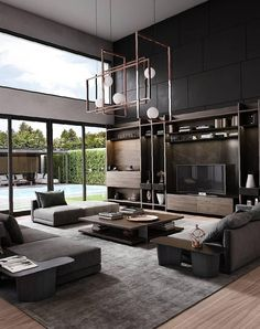 40 Loft Living Rooms That Will Blow Your Mind loft living room,modern living room,minimalism living room,industrial living room,cozy living room Living Room Modern, Home Living Room, Interior Design Living Room, Cozy Living, Small Living, Loft Living Rooms, Industrial Living Rooms, Luxury Living Rooms, Dining Rooms
