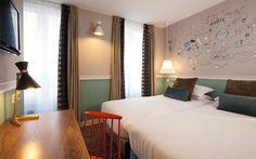 less unaffordable | HOTEL LES 3 POUSSINS| 150€ | Parijs
