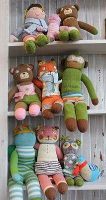 Bla Bla dolls. 100% cotton and machine washable.