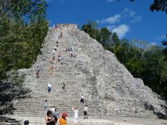 Coba is the ancient Mayan ruin most recently discovered by archeologists,     Read more here: http://www.mayanexplore.com/top_places_det.php?m=22=1