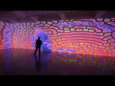 Miguel Chevalier, Power Pixels 2013 - Pittsburgh, Pennsylvania - YouTube