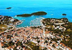 Moje podróże: Małe ale wspaniałe Vrsar na Istrii Adriatic Sea, Trieste, Austria, City Photo, Summer, Travel, Outdoor, Ale, Viajes