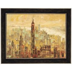 Metaverse Art Tramonto su Manhattan Framed Canvas Wall Art ($310) ❤ liked on Polyvore featuring home, home decor, wall art, multicolor, colorful home decor, framed canvas wall art, horizontal wall art, sunset wall art and canvas home decor