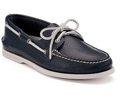74cf97ee687 Sperry A O Navy Leather Wide Shoes For Men