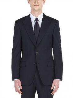 Midnight Lightweight Wool Fine Check Suit
