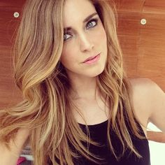 Bronde hair colour