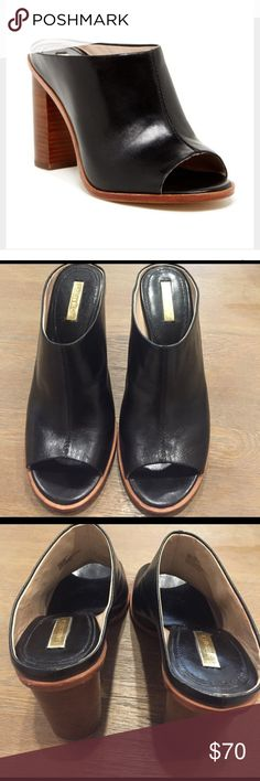 Selling this Vince Camuto Louise Et Cie Black Lorena Mule on Poshmark! My username is: brittstrick24. #shopmycloset #poshmark #fashion #shopping #style #forsale #Vince Camuto #Shoes