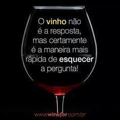 #Vinho & #Frase ☆ ♡ #eNãoé!