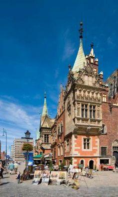 Splendid Gothic, Town Hall,Wroclaw, Poland