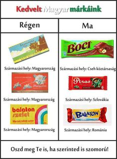 hungarian chocolate brands anno but now the owner is not hungarian :( Hungarian Recipes, Hungarian Food, Grape Soda, Chocolate Brands, World Recipes, Hungary, Nostalgia, Childhood, Marvel