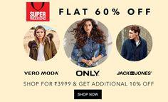 b4d98597 Discount more than 60% on #Jabong Vero Moda and Jack & Jones till