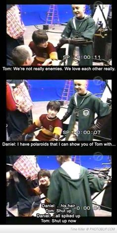 Harry Potter Had The Best Behind The Scenes