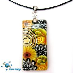 Black and yellow pendant   Flickr - Photo Sharing!