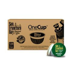 San Francisco Bay Coffee OneCup for Keurig K-Cup Brewers, Rainforest Blend, 120 Count - http://hotcoffeepods.com/san-francisco-bay-coffee-onecup-for-keurig-k-cup-brewers-rainforest-blend-120-count/