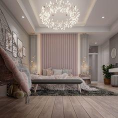Room Design Bedroom, Bedroom Furniture Design, Girl Bedroom Designs, Room Ideas Bedroom, Home Room Design, Home Decor Bedroom, Small Room Bedroom, Modern Luxury Bedroom, Luxury Rooms