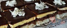 Recept Krémový kokosový zákusek - kokosové řezy Tiramisu, Cooking, Ethnic Recipes, Food, Poppy Seed Cake, Top Recipes, Oven, Dessert Ideas, Food Food