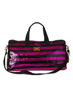 really? a BLING-ED OUT DUFFLE BAG? they might as well have put my name on it!