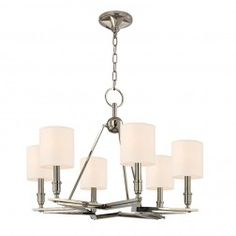 Bethesda 6 Light Drum Shade Chandelier