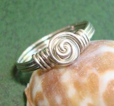 Silver Rosette Ring