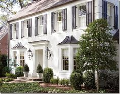 Classic White Painted Brick Abodes