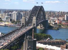 The amazing Sydney harbour bridge in the daylight sun. A view that never gets dull, or ceases to amaze!