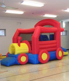 Amuz Inflatable Game: Choo Choo Train
