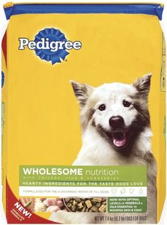 Pedigree Wholesome Recipe with Chicken Rice  Vegetables Dry Food for Adult Dogs 163Pound Bag -- To view further for this item, visit the image link.