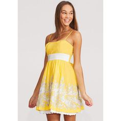 Yellow Floral Easter Dress ($9.99)