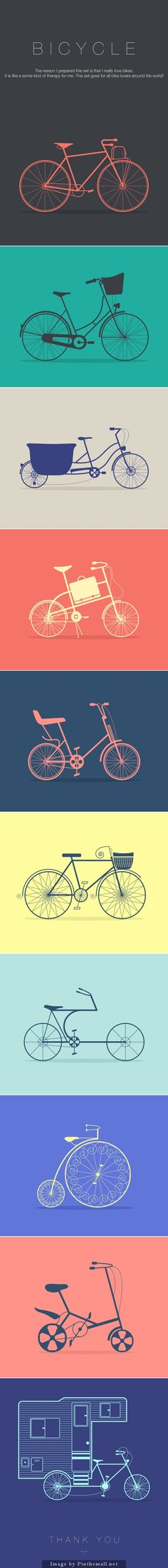 Bike Icon Set                                                                                                                                                      More