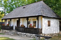 Photograph Rustic Old House by Hurghis Vasile on House On A Hill, House In The Woods, My House, Wood House Design, Old Country Houses, Cute Cottage, European House, Diy House Projects, Cabin Homes