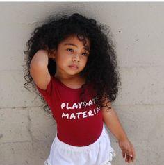 wat my future daughter will look like 😍😍 Cute Mixed Babies, Cute Black Babies, Cute Little Girls, Cute Baby Girl, Cute Babies, Mix Baby Girl, Cute Kids Fashion, Baby Girl Fashion, Baby Kind