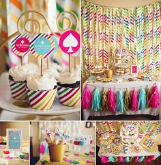 Kate Spade Inspired Baby Shower | CatchMyParty.com