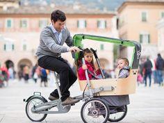 Vuoi pedalare in città con bambini piccoli senza rinunciare alla sicurezza e senza limitare la tua libertà di movimento? Taga Bike ti permette di avere una bici e un passeggino in un unico strumento  #madai #dailymadai