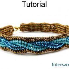 Tutorial Herringbone Bracel..